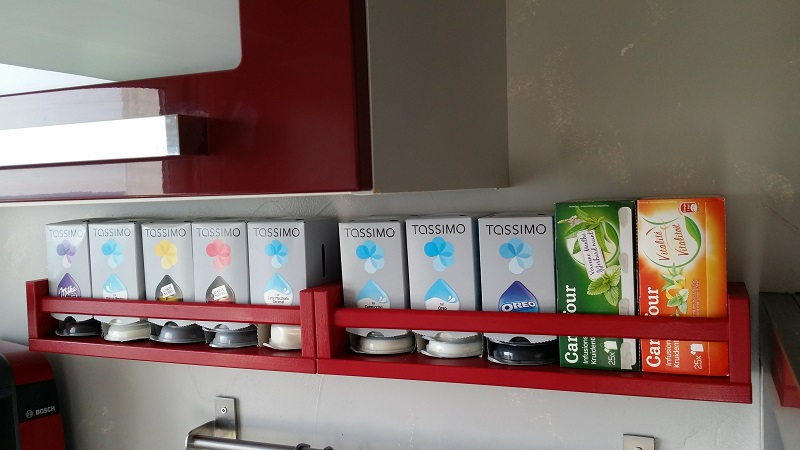 Bien-aimé DIY] Support de capsules Tassimo personnalisé. – Dealabs.com UK11